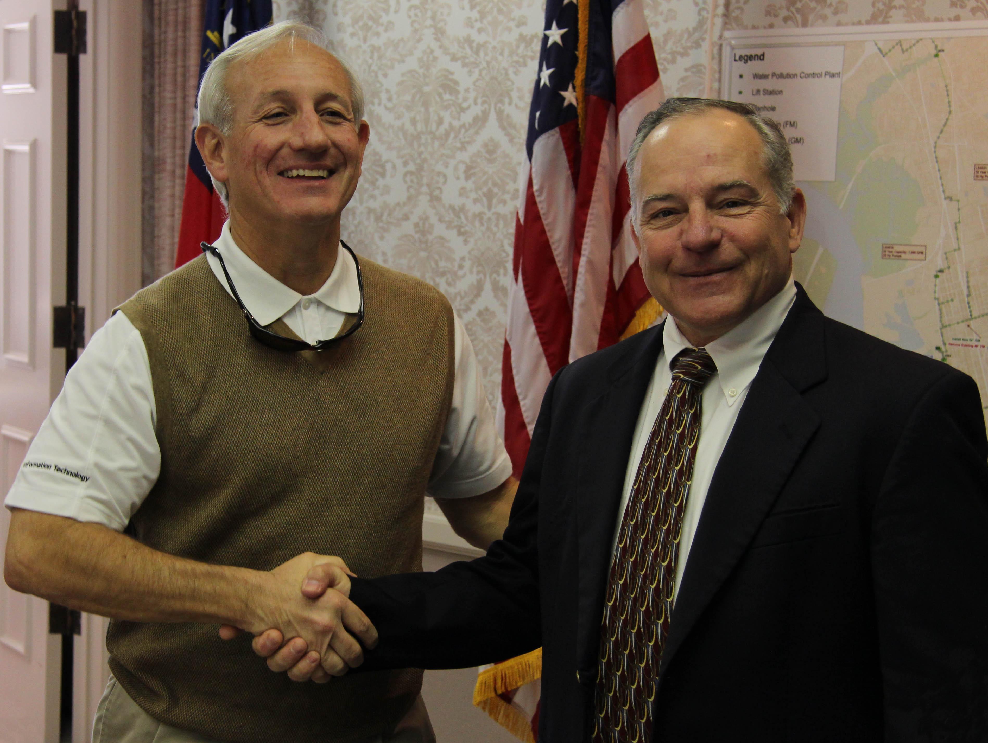 Chairman Provenzano and Executive Director Swan
