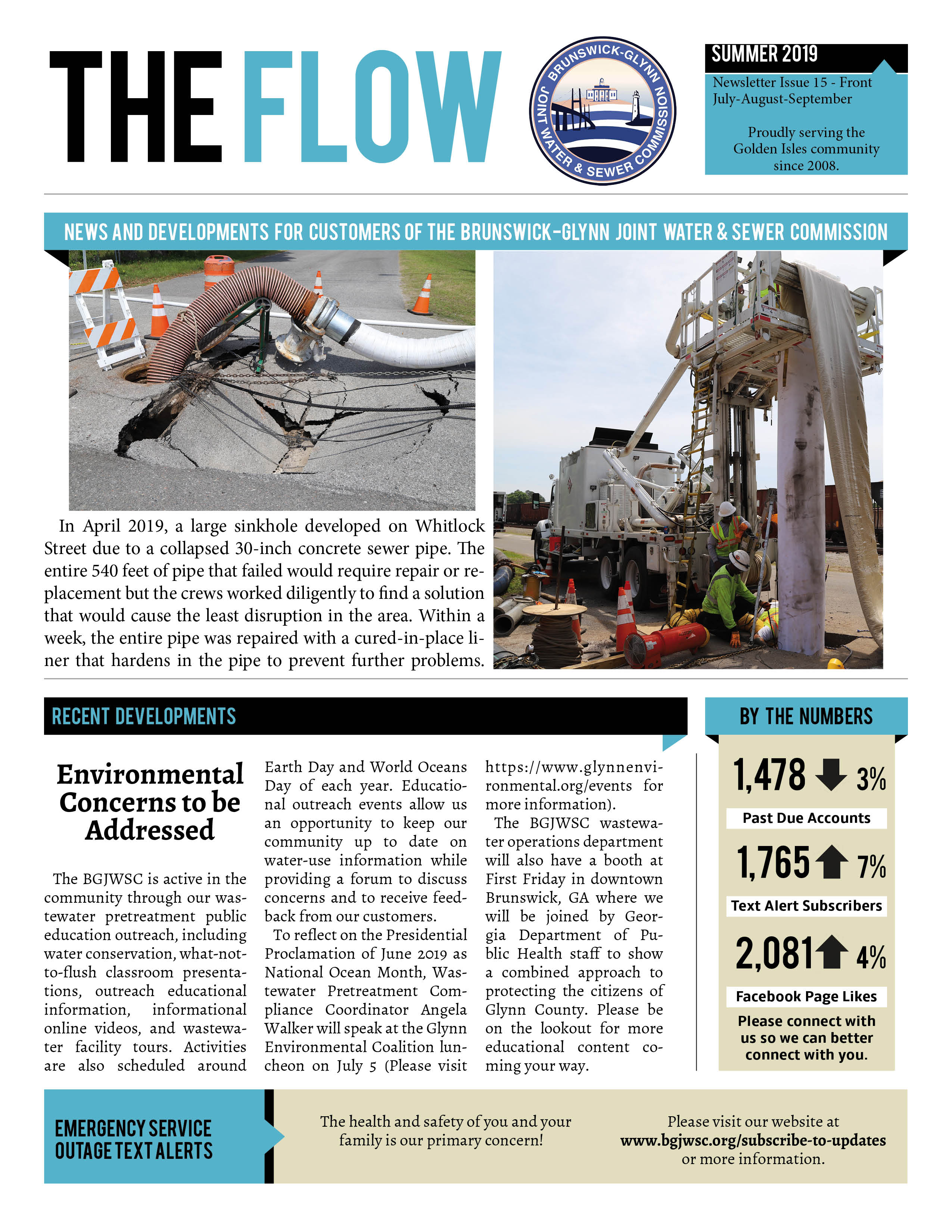 The Flow Newsletter | Brunswick-Glynn County Joint Water & Sewer