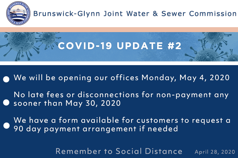 Administrative Offices Opening May 4 2020 Brunswick Glynn